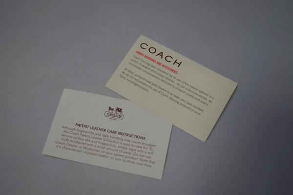コーチのカード